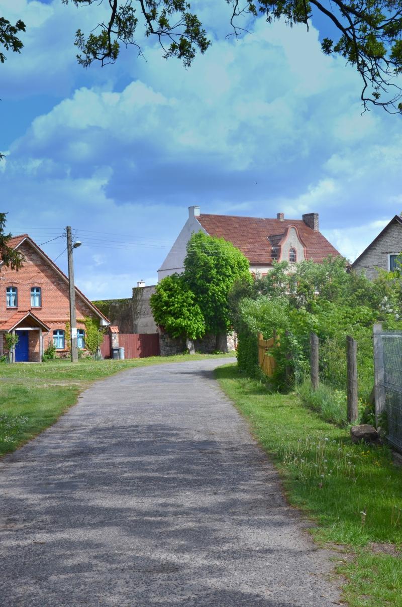 Okolice Krzemienia - wioska w zachodniopomorskim