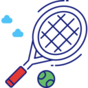 Kort tenisowy i tenis stołowy